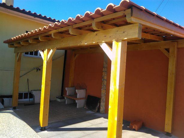telheiros em madeira Madei&Conforto