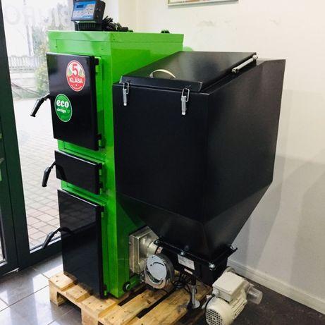 Piec Kocioł 5 KLASA Ecodesign 19 KW z podajnikiem od 150-200m2