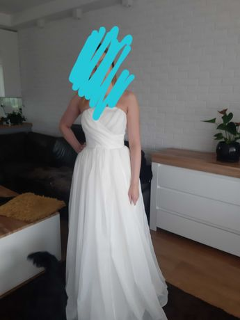 Suknia ślubna gorsetowa