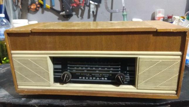 """проигрыватель-радиоприёмник """"Рекорд-66"""