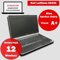 Laptop poleasingowy Dell e6430 i5 8GB 240GB SSD Windows 10 GWAR 12msc