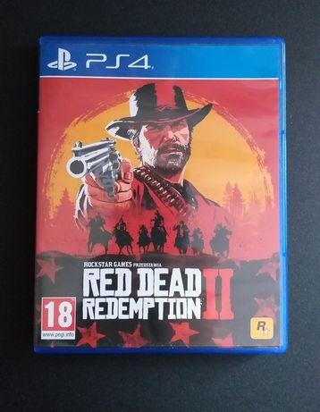 Red Dead Redemption 2 PS4 PlayStation 4 polska wersja