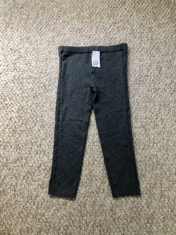 Трикотажные теплые штаны GAP на девочку