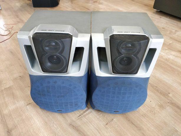 Dwa głośniki z wieży JVC SP-MXJ300E  - 100W