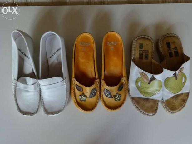 Conjunto de 3 sapatos de senhora