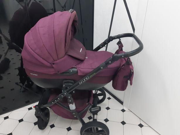 Продам лучшую коляску Riko Brano Natural Purple 2в1