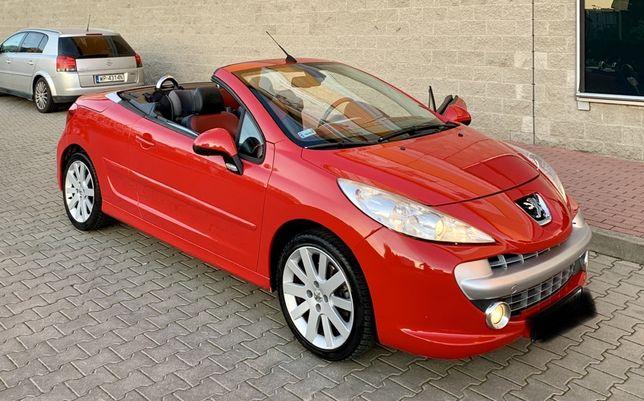 Peugeot 207cc bdb stan 120km skora klima. Full opcja