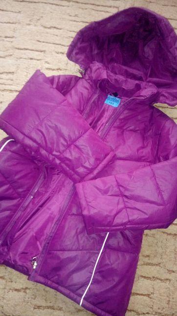 Nowa kurtka dziewczynka 140