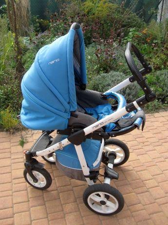 wózek dziecięcy Riko Nano 3w1 Malachit turkus odbiór Kamionki Pz