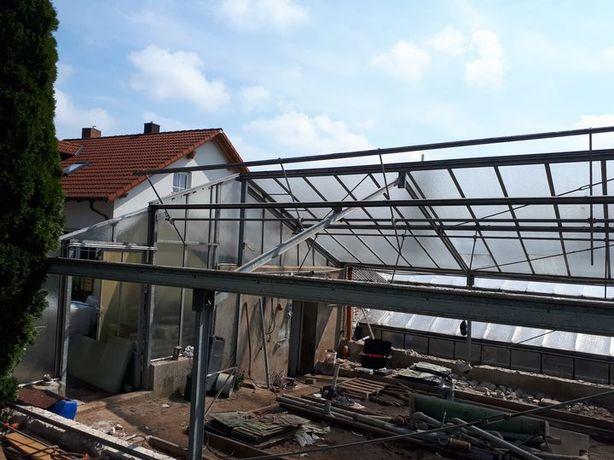 konstrukcja hali wiaty