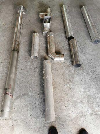 Komin gazowy z rury kwasowej