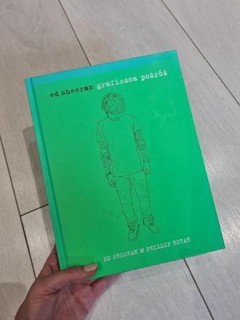 Ksiazka Autobiografia Ed Sheeran graficzna podroz