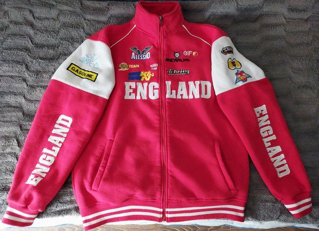 ENGLAND Bluza polarowa termiczna ocieplana wycieczki warsztat sportowa