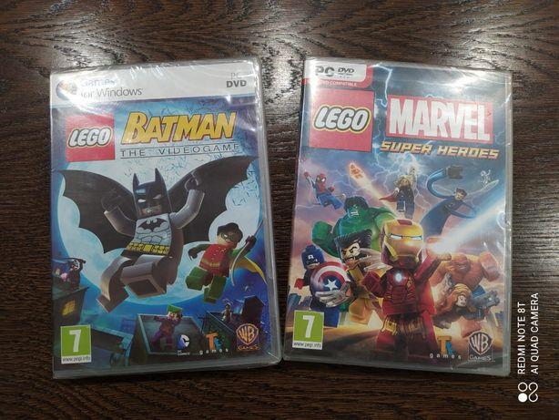 Gry PC/DVD LEGO Batman videogame i Marvel Super Heroes