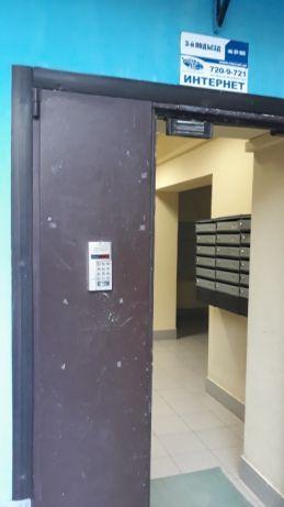 Двери в подъезд . С домофоном или кодовым замками .