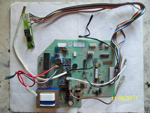 Dekker KFR-32GW -плата управления кондиционера с мотором + Подарок