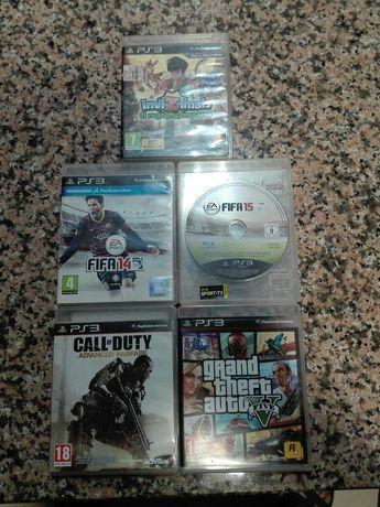 Vendo 5 jogos.