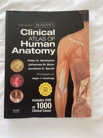 """Livro """" McMINN'S Clinical Atlas of Human Anatomy"""" sexta edição"""