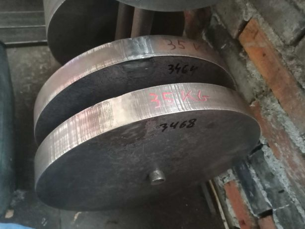35kg talerze TRÓJBÓJ ARMWRESTLING  obciążenie krążki siłownia