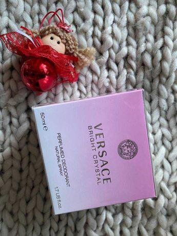 versace bright cristal дезодорант спрей 50 мл