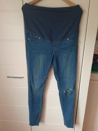 Spodnie jeansy ciążowe hm XL 3szt.