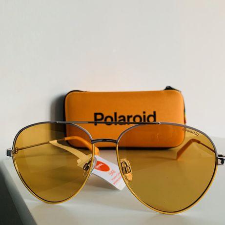 Sliczne nowe pilotki okulary przeciwsloneczne Polaroid polecam!