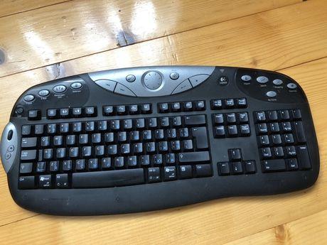 Мультимедийная клавиатура logitech