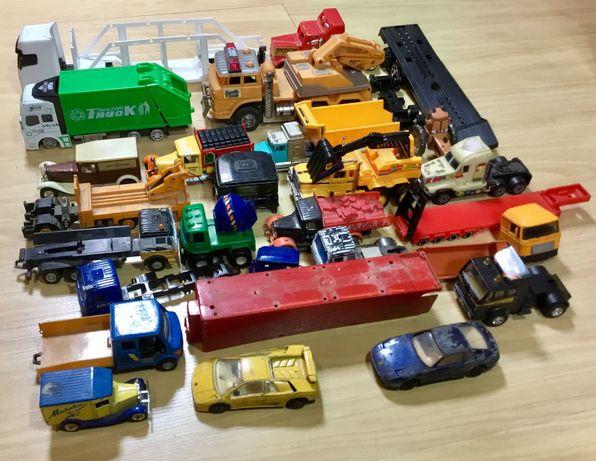 Lote de miniaturas/brinquedos para restauro ou peças