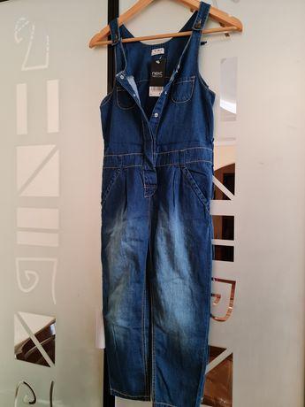 Лёгкий джинсовый комбинезон Next 8-10 лет