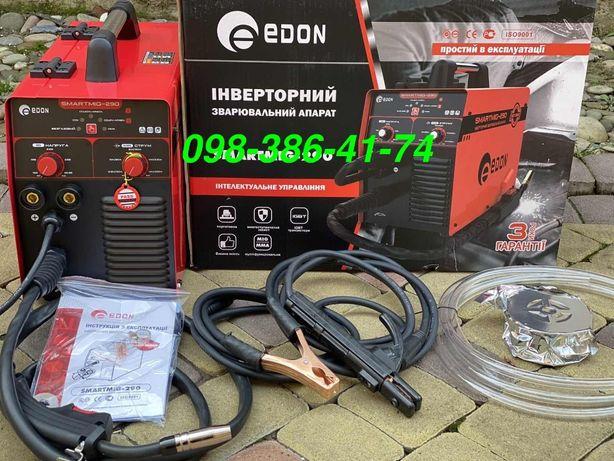 Полуавтомат сварочный инверторный Edon SmartMIG-290 сварка + проволка