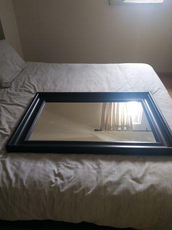 Espelho com moldura preta IKEA