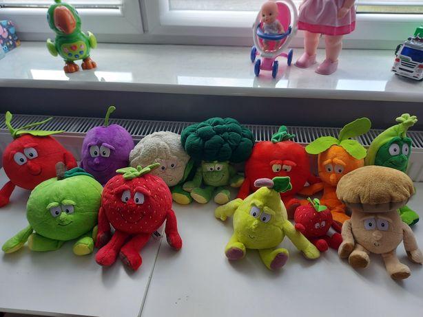 Gang ŚWIEŻAKÓW warzywa owoce maskotki