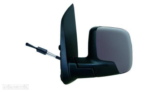 Espelho Esquerdo Manual Peugeot Bipper 08- P/ Pintar