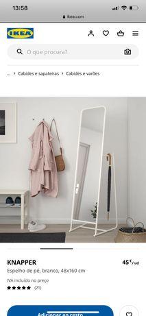 Espelho branco IKEA