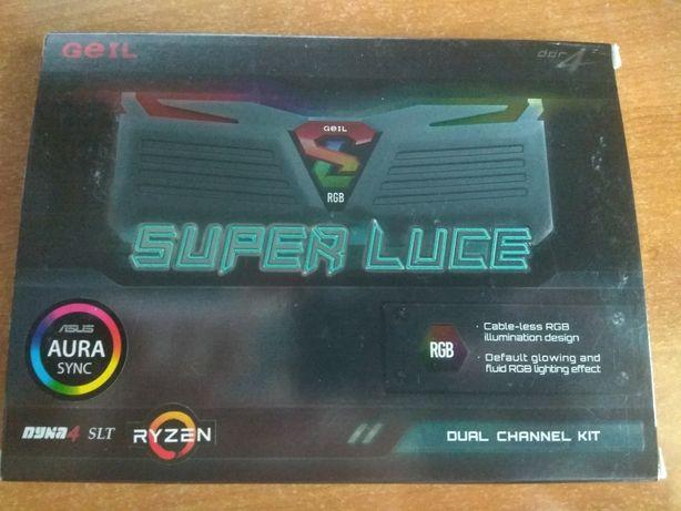 Оперативная память Geil Super Luce RGB 16 Gb DDR4-3200 (Samsung B-DIE)