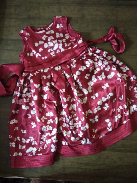 Нарядное платье Monsoon 2-3 года