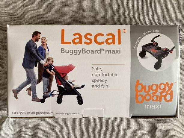 Lascal Buggyboard MAXI, Dostawka do wózka, czerwona