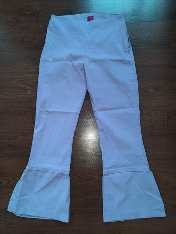 Spodnie 3/4 fioletowe