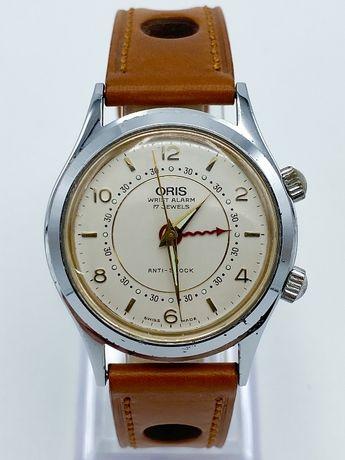 Relógio Oris Wrist Alarm Corda Manual