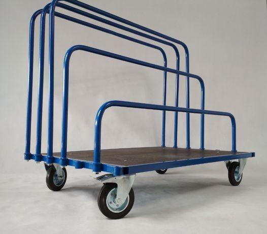 Wózek do płyt meblowych i gipsowych z pałąkami 30-90 cm -LWP