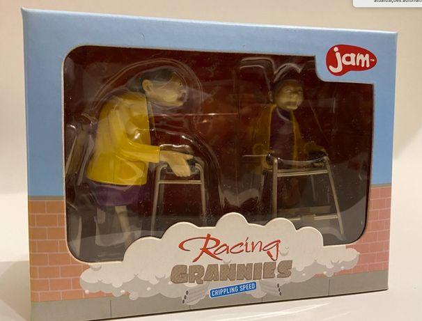 Racing Grannies Brinquedo mecanismo de corda