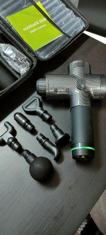 Pistola de massagem muscular com 30 velocidades