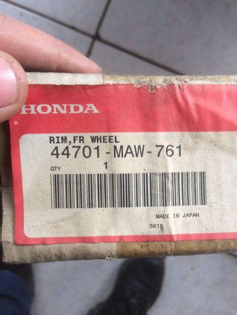 Aro roda da frente Honda 44701-maw-761