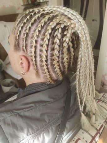 Плетение кос.Наращивание.