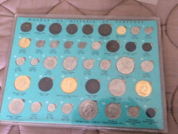 Coleção de moedas diário de notícias