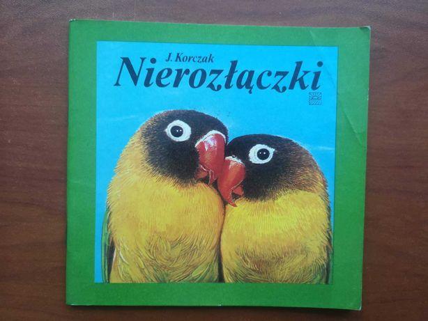 Broszury o ptakach egzotycznych (papużki, zeberki)