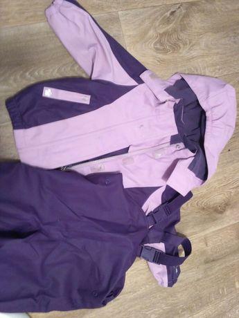 Крутой непромокаемый осенний костюм 74-80