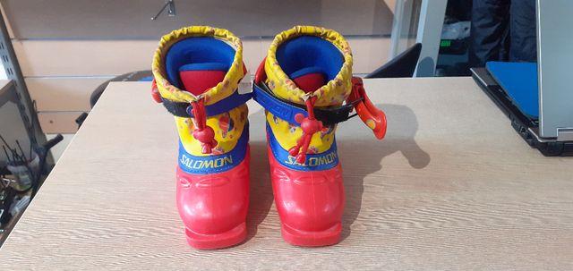 Buty Narciarskie dziecięce używane Salomon Team mini