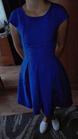 Nowa sukienka chabrowa xxs.