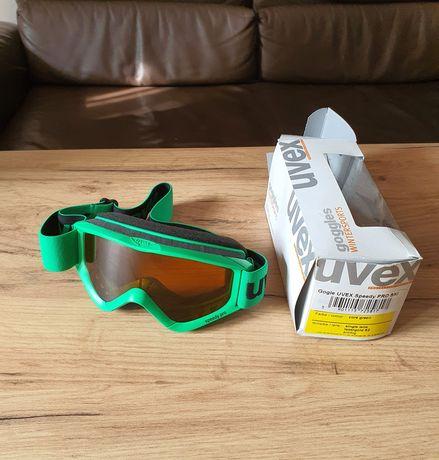 Gogle Uvex Junior Speedy Pro Ski zielone antifog nowe
